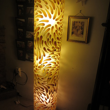 made in indonesia, vintage gloor lamp - Lamps