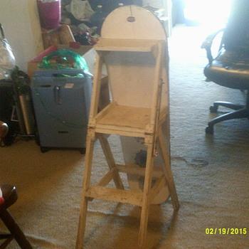 Jefferson chair / ironing board / ladder, Fort Massac Chair Company - Furniture