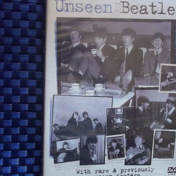 "DVD from BBC--""BEATLES UNSEEN"" GOOD ONE FOR A BEATLES COLLECTOR!! - Music Memorabilia"