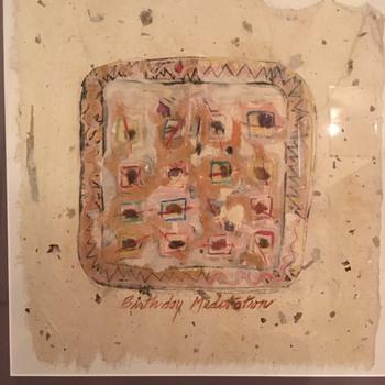 "Leah Kosh Painting ""Birthday Meditation"" - Fine Art"