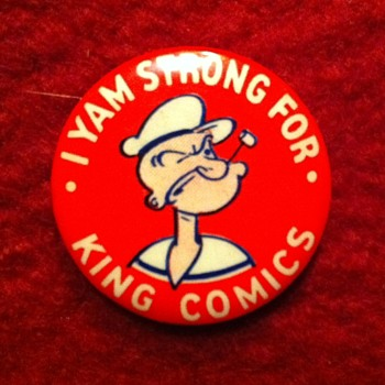 King Features Syndicate pinback premium - Medals Pins and Badges