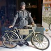 "Dragon Action Figure ""Dieter"" WWII German Wehrmacht Infantryman With Bicycle France 1944 Made 2002"