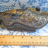 Antique Tin 4 Part Hinged Dutch Shoe Chocolate Mold