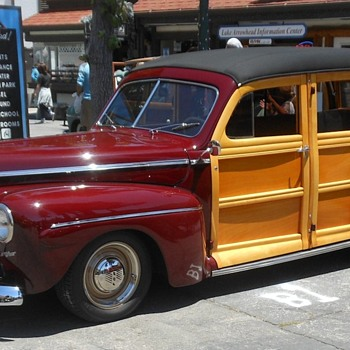 Lake Arrowhead Woody and Boat Show 2016 - Classic Cars