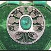 New Zealand Arts & Crafts brooch