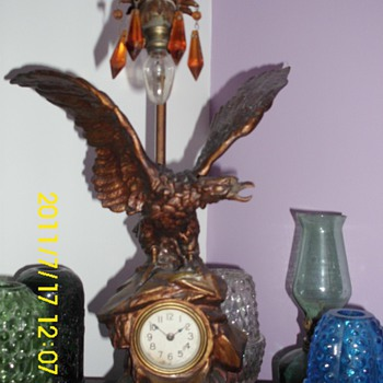 Eagle clock/mini Banjo - Clocks
