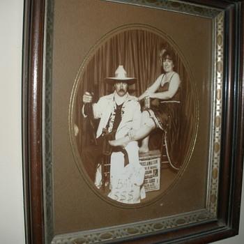 Bank robber and his dance hall gal - Photographs