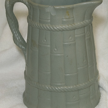 Ridgway Relief Molded Early Jug 1835 - Pottery
