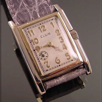 Rare & Unusual Elgin Wristwatch - Wristwatches