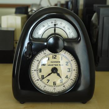 "Measured Time ""Hawkeye"" Timer/Clock  - Clocks"
