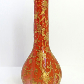 Early Loetz Gilt Vase - Art Glass