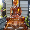 AMBER GLASS LORD BUDDHA