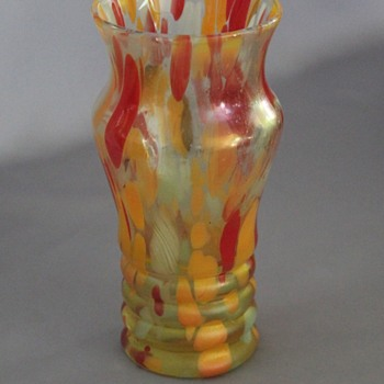 Help!  Interesting tumbler or vase - Art Glass