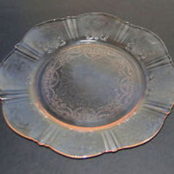 American Sweetheart Depression Glass - pink - Glassware
