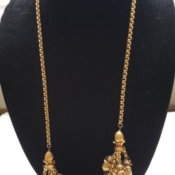 Vintage Napier Lariat - Costume Jewelry