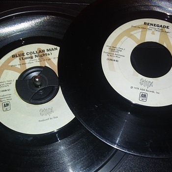45 RPM SINGLE(S)....#111-#112 - Records