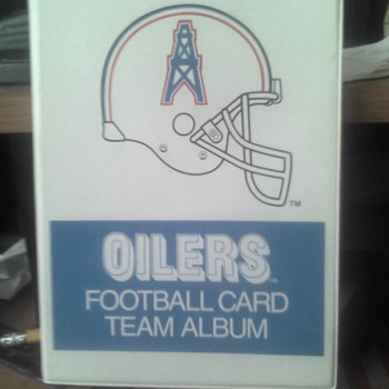 Houston Oilers Team card Holder