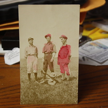 1910 POSTCARD FROM COOPERSTOWN