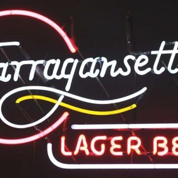 Narragansett neon - Signs