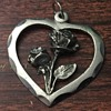 Italian Rose pendant