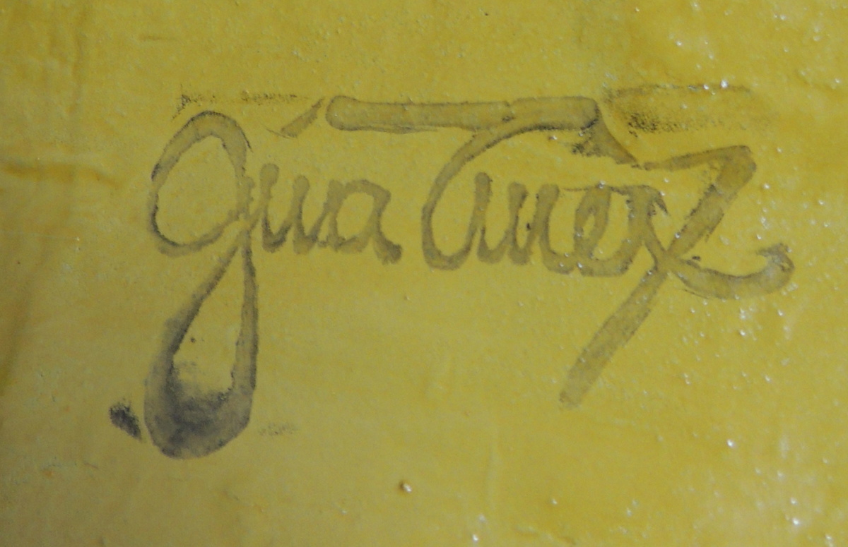 Papier-mâché Lion Mask - Signed GINA TUREX | Collectors Weekly