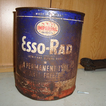 rusty  oil cans  - Petroliana