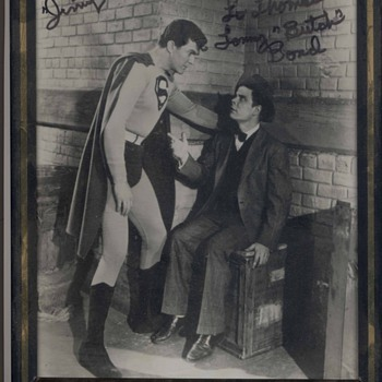 "Superman and Jimmy Olsen The ""First"" Superman & Jimmy Olsen - Photographs"