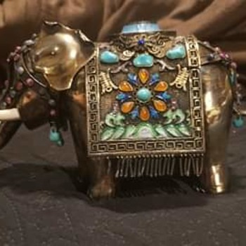 Jeweled elephant  - Animals