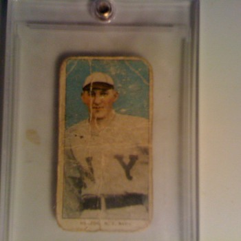 Antique Piedmont tobacco baseball card