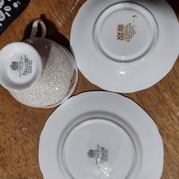 Found some Paragon China thrift shopping  - China and Dinnerware