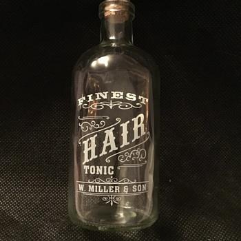a mystery bottle - Bottles
