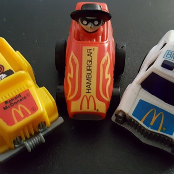 Mac cars.  I have 5 of them. - Model Cars