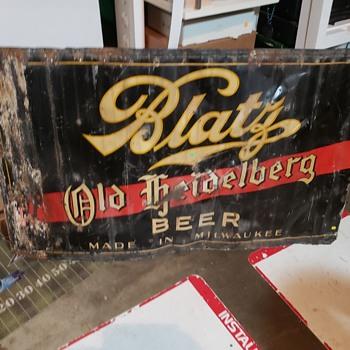 Blatz old Heidelberg 1930's?? - Breweriana