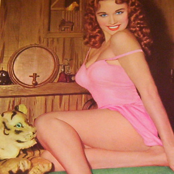 Pin-Up Calendar - Advertising