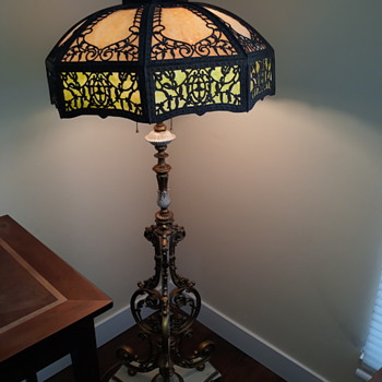 Stained glass floor lamp  - Lamps