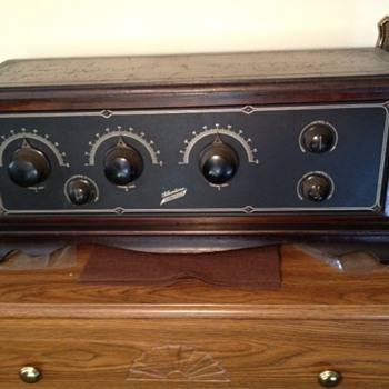 Need Model Number Silvertone Neutrodyne 5-tube 1920s radio