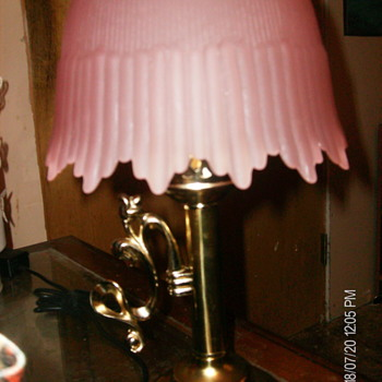 hurricane lamp i bought - Lamps