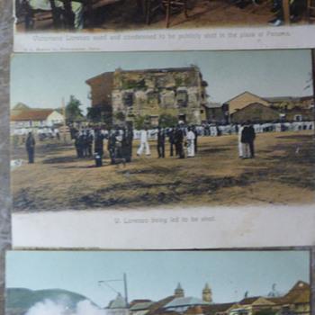 victoriano lorenzo set - Postcards
