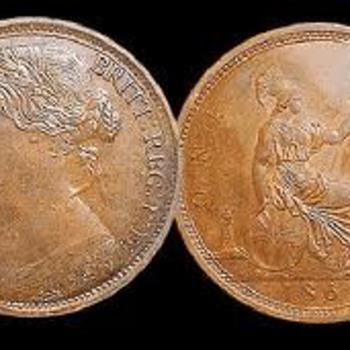 "British ""bun pennies"""
