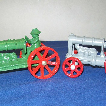 A few cast iron toys