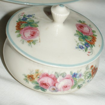 Coffee or Tea Set:  Silesia and Woolworth - China and Dinnerware