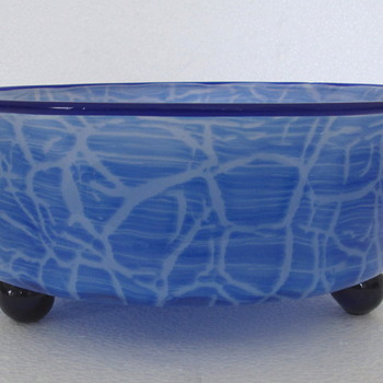 LOETZ  GLASS BOWL ...AUSF  134.. c1920 - Art Glass