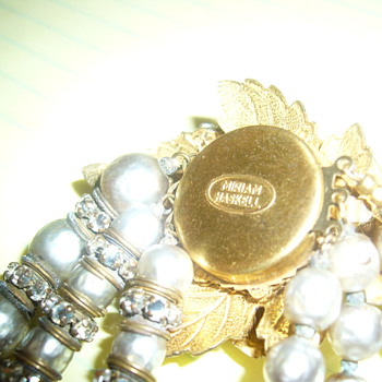 Miriam Haskell Vintage Signed Necklace