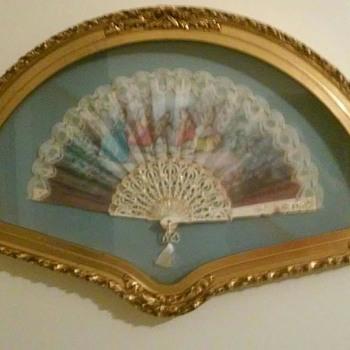 Framed Fan - Accessories