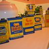 Golden Fleece oil tins
