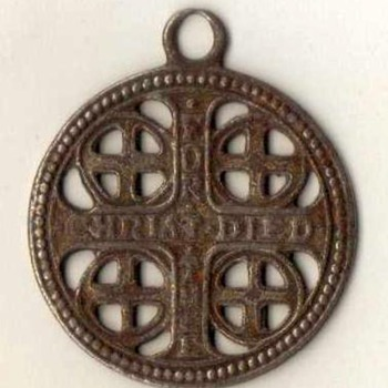 """The Church War Cross"" Pendant - Fine Jewelry"