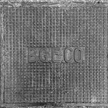 B.G. & E. Manhole Cover - Tools and Hardware