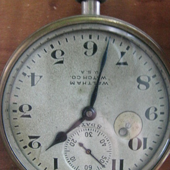 Vintage Pocket Watch Waltham