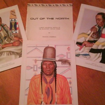 Blackfeet Indian Tribe Prints (set-24) - Native American