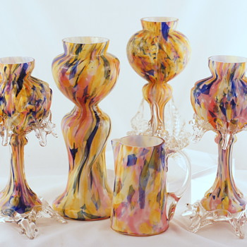 Welz Shapes and Décors - A Few More Groups #2 - Art Glass